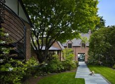 The-Book-House-features-a-beautiful-garden-that-complements-its-architecture