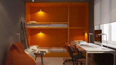 Photo of Sötétszürke szín meleg LED világítással