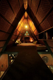 Attic-cabin-with-a-cozy-mattress-upstairs