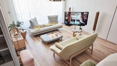 Photo of Pasztell árnyalatok modern lakásban