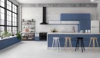 Blue-white-wood-kitchen