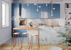 Copper-kitchen-bar-stools