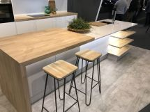 Kitchen-island-with-wood-countertop-waterfall