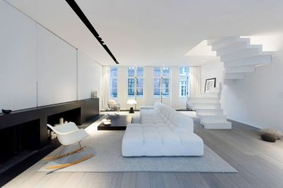 white-living-room-chair