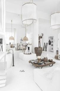 White-pendant-lights
