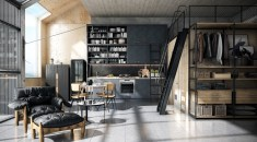 SIngle-wall-industrial-style-kitchens