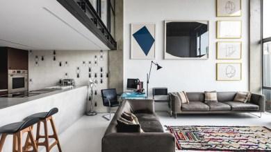 Photo of Londoni lakás ipari stílussal