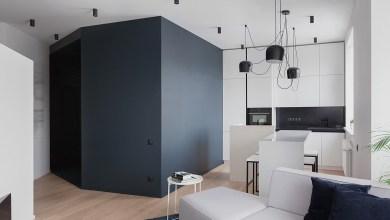 Photo of Apartman geometrikus megoldásokkal