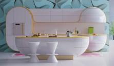 Pink-kitchen-rug