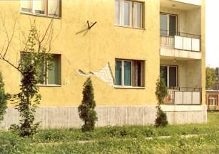 Berhida földrengés - épületkárok