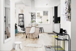 black-and-white-scandinavian-kitchen-600x400