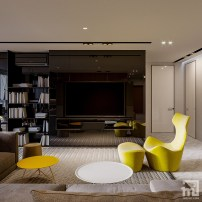 yellow-accent-living-room