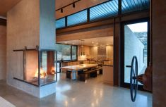 Beautiful-family-retreat-two-sided-fireplace-by-Olson-Kundig