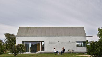 Photo of Kis betonház, ami csodálatos svéd tájra nyújt kilátást