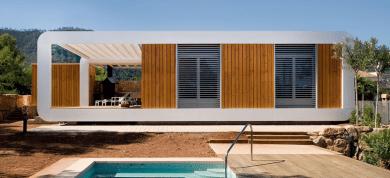 Modern moduláris ház