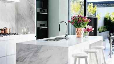 Photo of 15 elegáns márvány munkalap modern konyhákba