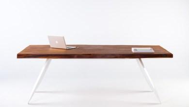 Photo of Kortárs asztal 50.000 éves kauri fából