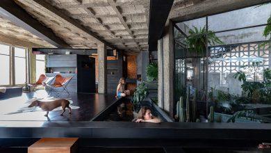Photo of Forest House: egy ecuadori család ház, mini fedett medencével