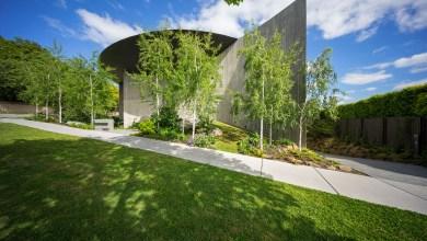 Photo of Wood Marsh íves betonfalakkal körülhatárolt háza Melbourne-ben