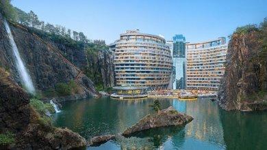 Photo of Az InterContinental Hotels luxus üdülőhelyet épít egy elhagyott sanghaji kőbányában