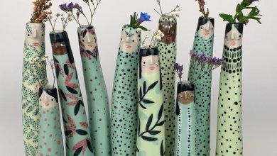 Photo of Sandra Apperloo: művészi mókás kerámia vázák