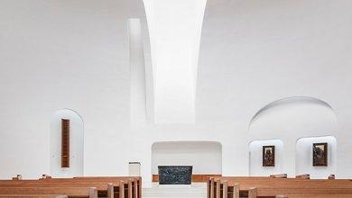 Photo of Minimalista magyar egyház a modern istentiszteletek számára