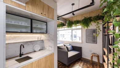 Photo of Szállodai szobából lett ultrakompakt lakás