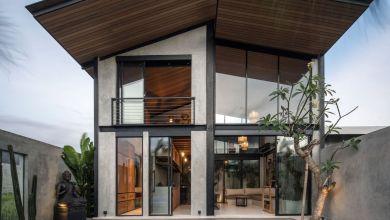 Photo of Loft stílusú otthon, egy mindössze 100 négyzetméteres telken