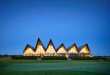 Photo of A japán papírhajtogatás ihlette a dán golf-hotel tetőszerkezetét