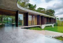 Photo of A 1100 négyzetméteres luxus otthont épített a díjnyertes brazil építész