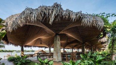 Photo of A DDconcept 3 dimenziós bambusz mennyezettel látta el a vietnámi éttermet