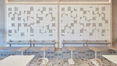 Photo of A Roar Studio terrazzo padlóval és törött kerámia burkolattal díszítette a dubaji kávézót