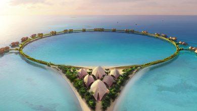 Photo of A dubaji Palm Jumeriah-hoz hasonló vízen álló hotelt épít a Foster + Partners Szaúd-Arábiában