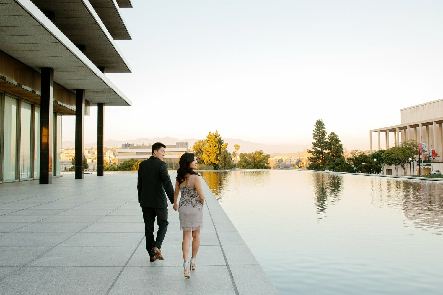 The Broad Museum Engagement With Hazuki And Eric Los
