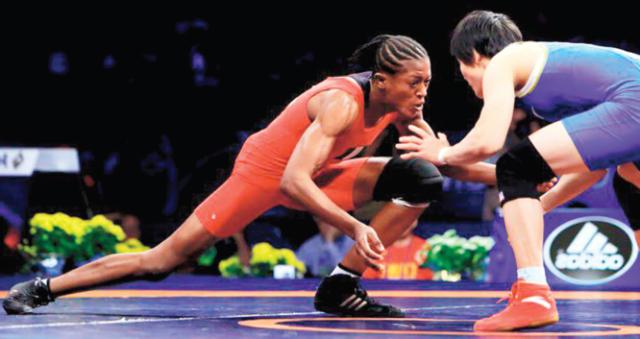 COVID-19: 'I Miss Fighting', Says Wrestling Champion Adekuoroye