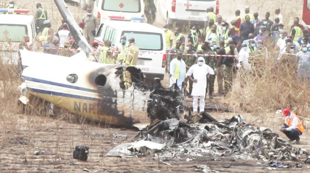 NAF aircraft crash victims to be buried today