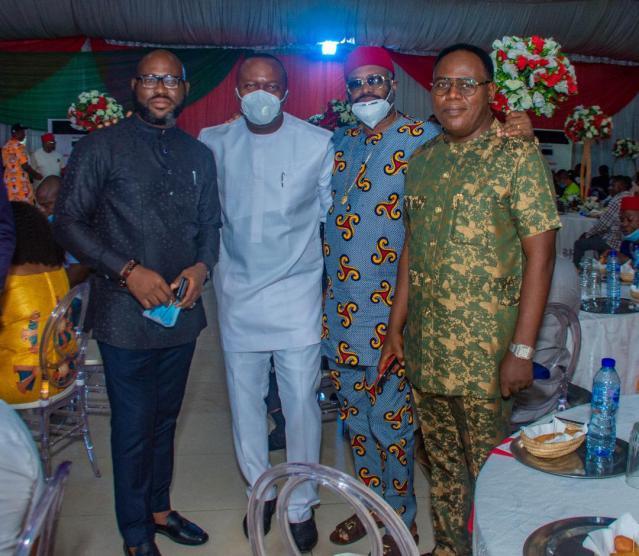 Val Ozigbo Meets Ndi Anambra In Enugu, Reveals '5 Cluster Development Strategy