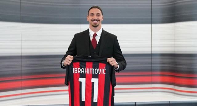 Zlatan Ibrahimovic Signs New AC Milan Deal To Take him Past 40th Birthday
