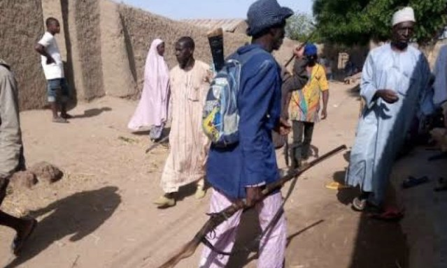 A 13-year-old boy has been arrested in Kastina for killing two bandits in the forest.