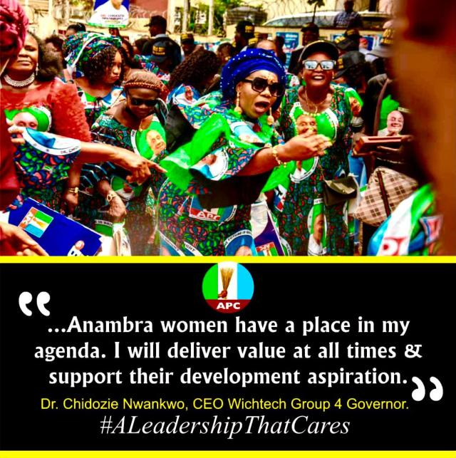 Anambra Women Pledge support for Dr Chidozie Nwankwo