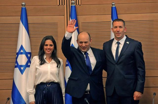 Israel's parliament Votes New coalition Government.