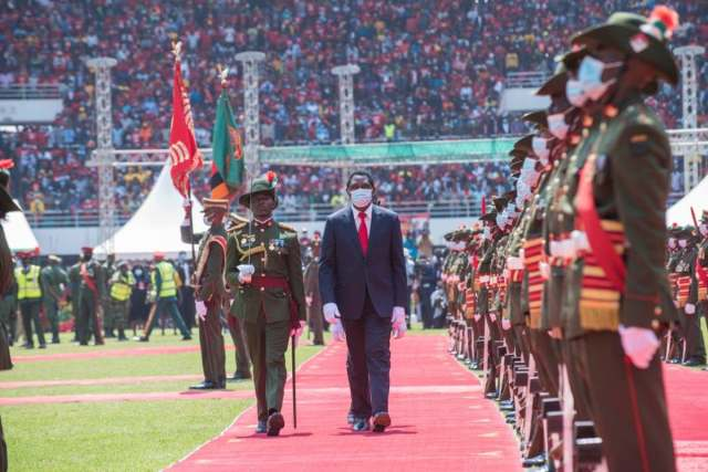 Zambia's newly-elected President Hakainde Hichilema appoints new military chiefs and replaces all police commissioners.