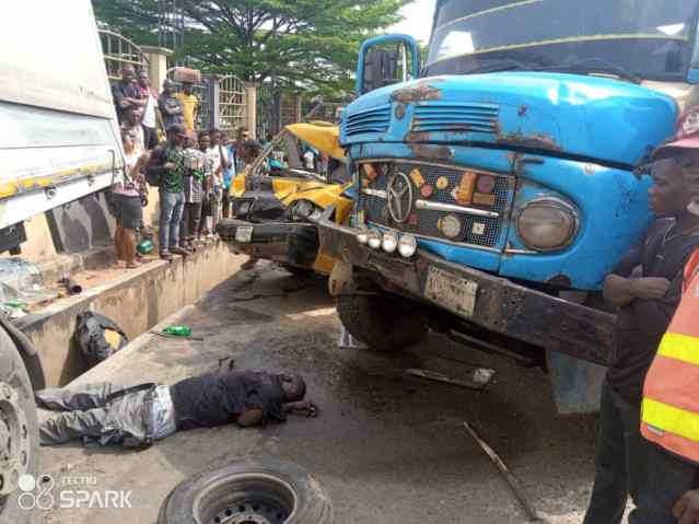 One Dies, 3 Injured As Revenue Agents, Tipper Driver Clash