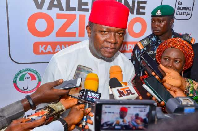 'Nnamdi Kanu Should Be Released – PDP'S Valentine Ozigbo At First Anambra Governorship Debate