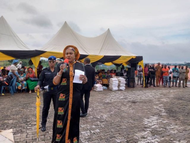 Ongoing LGA Tours: Mrs Obiano visits Oyi, Dunukofia, Nnewi South Council Areas