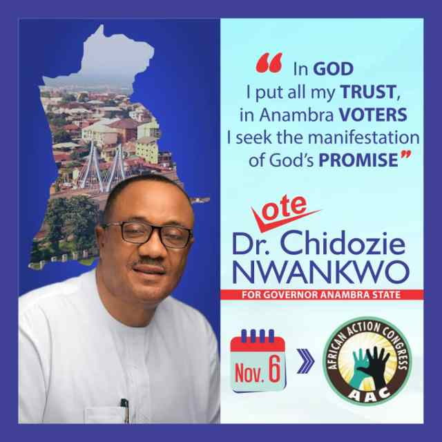 DR. CHIDOZIE NWANKWO: THE MAN WITH THE INTEGRITY CAPITAL TO LEAD ANAMBRA STATE