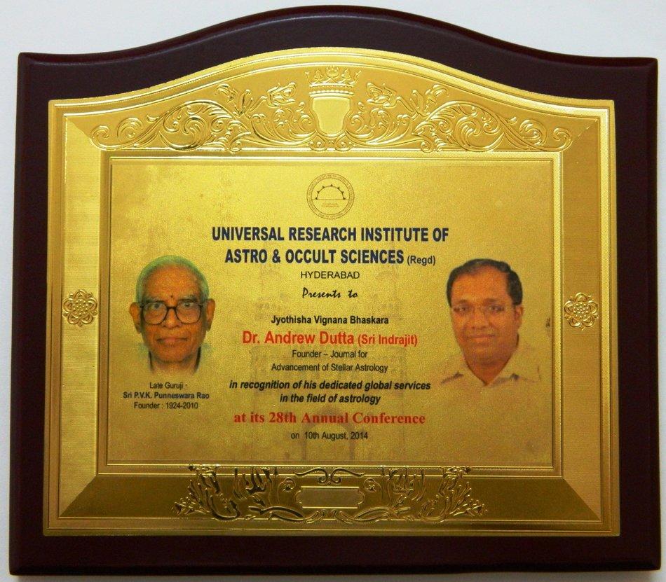 KP astro award