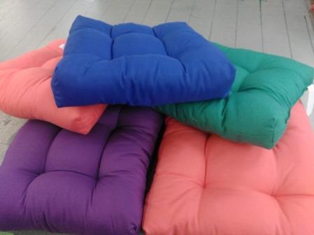 Подушка сидушка полисатин