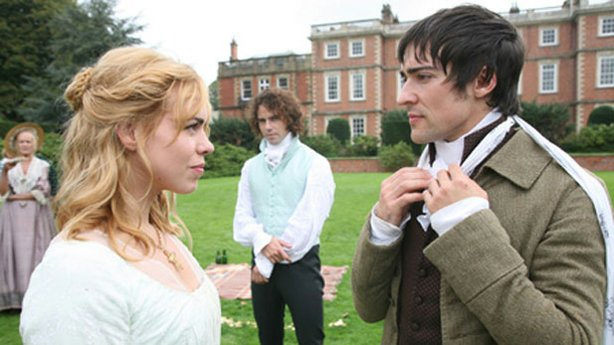 "Promotional photo of Billie Piper, Joseph Beattie, Blake Ritson from ""The Complete Jane Austen: Mansfield Park."""