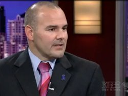 San Diego Police Detective James Hunter talks about child sex trafficking on KPBS Evening Edition on October 31, 2011.